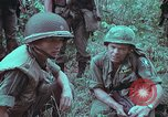 Image of 1st Battalion of 173rd Airborne Brigade Vietnam, 1965, second 22 stock footage video 65675022714