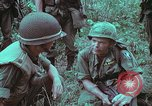 Image of 1st Battalion of 173rd Airborne Brigade Vietnam, 1965, second 26 stock footage video 65675022714