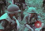Image of 1st Battalion of 173rd Airborne Brigade Vietnam, 1965, second 27 stock footage video 65675022714