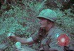 Image of 1st Battalion of 173rd Airborne Brigade Vietnam, 1965, second 31 stock footage video 65675022714