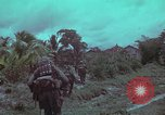 Image of 1st Battalion of 173rd Airborne Brigade Vietnam, 1965, second 42 stock footage video 65675022714