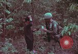 Image of 1st Battalion of 173rd Airborne Brigade Vietnam, 1965, second 28 stock footage video 65675022715