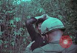 Image of 1st Battalion of 173rd Airborne Brigade Vietnam, 1965, second 33 stock footage video 65675022715