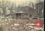 Image of Wooden houses Woodstock New York USA, 1975, second 22 stock footage video 65675022751