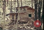 Image of Wooden houses Woodstock New York USA, 1975, second 24 stock footage video 65675022751