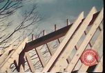 Image of Wooden houses Woodstock New York USA, 1975, second 26 stock footage video 65675022751