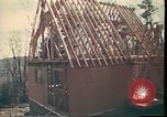 Image of Wooden houses Woodstock New York USA, 1975, second 30 stock footage video 65675022751