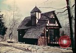 Image of Wooden houses Woodstock New York USA, 1975, second 38 stock footage video 65675022751