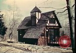 Image of Wooden houses Woodstock New York USA, 1975, second 39 stock footage video 65675022751