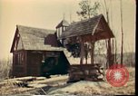 Image of Wooden houses Woodstock New York USA, 1975, second 42 stock footage video 65675022751