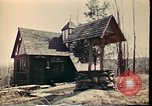 Image of Wooden houses Woodstock New York USA, 1975, second 43 stock footage video 65675022751