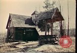 Image of Wooden houses Woodstock New York USA, 1975, second 44 stock footage video 65675022751
