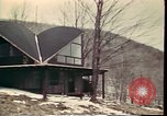 Image of Wooden houses Woodstock New York USA, 1975, second 49 stock footage video 65675022751