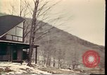 Image of Wooden houses Woodstock New York USA, 1975, second 52 stock footage video 65675022751
