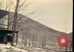 Image of Wooden houses Woodstock New York USA, 1975, second 53 stock footage video 65675022751