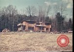 Image of Wooden houses Woodstock New York USA, 1975, second 60 stock footage video 65675022751