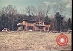 Image of Wooden houses Woodstock New York USA, 1975, second 61 stock footage video 65675022751