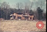 Image of Wooden houses Woodstock New York USA, 1975, second 62 stock footage video 65675022751