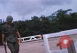 Image of 25th Infantry Division soldiers Vietnam Cu Chi, 1967, second 12 stock footage video 65675022779