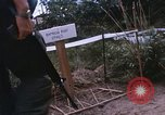 Image of 25th Infantry Division soldiers Vietnam Cu Chi, 1967, second 29 stock footage video 65675022779