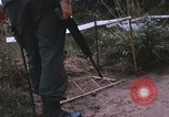 Image of 25th Infantry Division soldiers Vietnam Cu Chi, 1967, second 33 stock footage video 65675022779