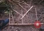 Image of 25th Infantry Division soldiers Vietnam Cu Chi, 1967, second 39 stock footage video 65675022779