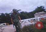 Image of 25th Infantry Division soldiers Vietnam Cu Chi, 1967, second 42 stock footage video 65675022779