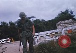 Image of 25th Infantry Division soldiers Vietnam Cu Chi, 1967, second 43 stock footage video 65675022779