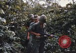 Image of 25th Infantry Division soldiers Vietnam Cu Chi, 1967, second 14 stock footage video 65675022783