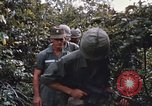 Image of 25th Infantry Division soldiers Vietnam Cu Chi, 1967, second 21 stock footage video 65675022783