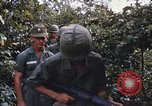 Image of 25th Infantry Division soldiers Vietnam Cu Chi, 1967, second 22 stock footage video 65675022783