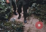 Image of 25th Infantry Division soldiers Vietnam Cu Chi, 1967, second 49 stock footage video 65675022783