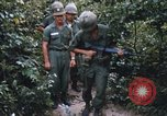 Image of 25th Infantry Division soldiers Vietnam Cu Chi, 1967, second 52 stock footage video 65675022783