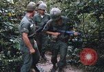 Image of 25th Infantry Division soldiers Vietnam Cu Chi, 1967, second 55 stock footage video 65675022783