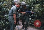 Image of 25th Infantry Division soldiers Vietnam Cu Chi, 1967, second 57 stock footage video 65675022783