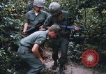 Image of 25th Infantry Division soldiers Vietnam Cu Chi, 1967, second 58 stock footage video 65675022783