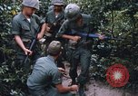 Image of 25th Infantry Division soldiers Vietnam Cu Chi, 1967, second 60 stock footage video 65675022783