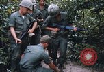 Image of 25th Infantry Division soldiers Vietnam Cu Chi, 1967, second 61 stock footage video 65675022783
