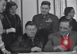 Image of Arthur Godfrey Greenland Thule Air Force Base, 1954, second 6 stock footage video 65675022794