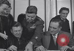Image of Arthur Godfrey Greenland Thule Air Force Base, 1954, second 15 stock footage video 65675022794