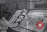 Image of Pentagon operations rooms Washington DC USA, 1953, second 28 stock footage video 65675022810