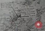 Image of 1st Marine Division situation map Peleliu Palau Islands, 1944, second 15 stock footage video 65675022858