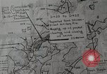 Image of 1st Marine Division situation map Peleliu Palau Islands, 1944, second 16 stock footage video 65675022858