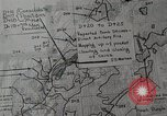 Image of 1st Marine Division situation map Peleliu Palau Islands, 1944, second 17 stock footage video 65675022858