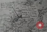 Image of 1st Marine Division situation map Peleliu Palau Islands, 1944, second 19 stock footage video 65675022858