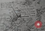 Image of 1st Marine Division situation map Peleliu Palau Islands, 1944, second 20 stock footage video 65675022858