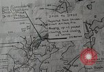 Image of 1st Marine Division situation map Peleliu Palau Islands, 1944, second 21 stock footage video 65675022858