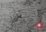 Image of 1st Marine Division situation map Peleliu Palau Islands, 1944, second 22 stock footage video 65675022858