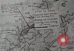 Image of 1st Marine Division situation map Peleliu Palau Islands, 1944, second 23 stock footage video 65675022858