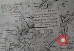 Image of 1st Marine Division situation map Peleliu Palau Islands, 1944, second 25 stock footage video 65675022858